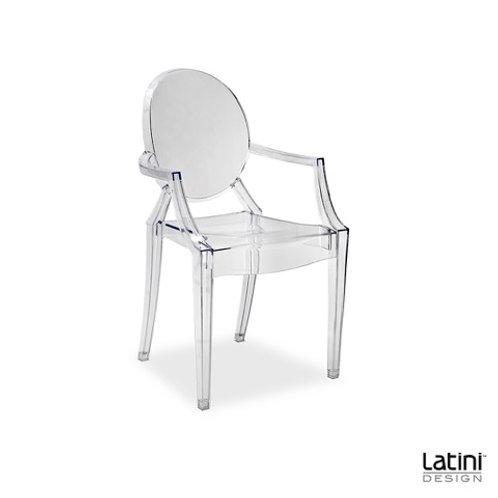 Sedia Louis Ghost Trasparente