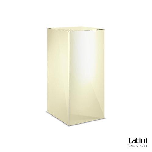 Colonnina Reflect Gold 40x40 cm H 100 cm