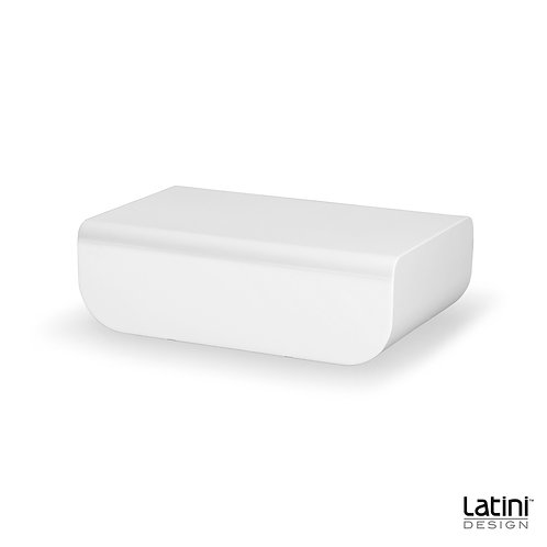 Tavolo lounge Bryson Bianco