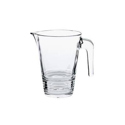 Caraffa in vetro 1 lt latini design noleggio arredi per for Noleggio arredi per eventi milano