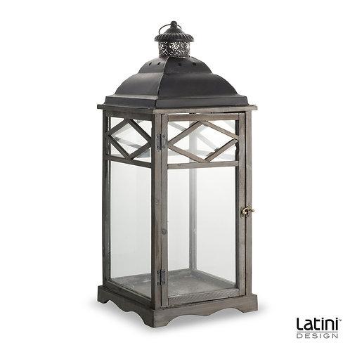 Lanterna Brianna Silver H 70 cm