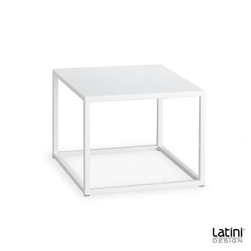 Tavolo lounge Metallic Bianco