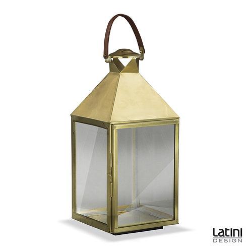 Lanterna Sienna Gold 32x32 cm H 82 cm