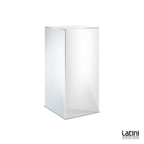 Colonnina Reflect Silver 60x60 cm H 110 cm