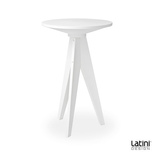Tavolo alto Skylar Bianco