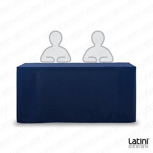 Cover per tavolo relatore blu 150 cm