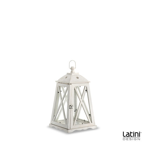 Lanterna Penelope Bianca H 50 cm