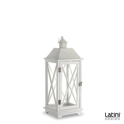 Lanterna Julia Bianca H 50 cm