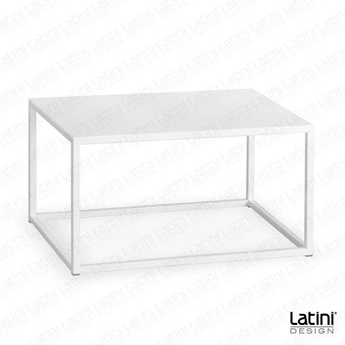 Tavolo lounge Metallic White