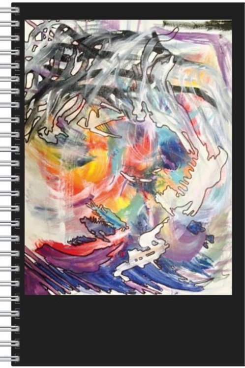 E.Havens Notebook-Signed-Mystic Sunrise