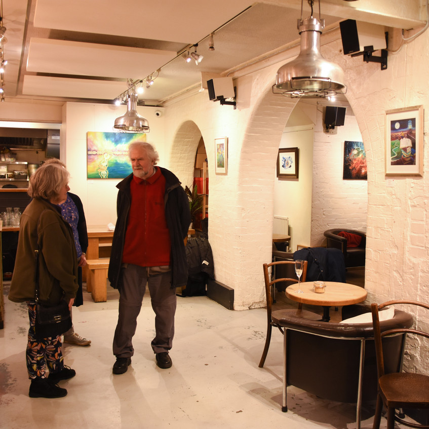 As Above Solo Below: Private View