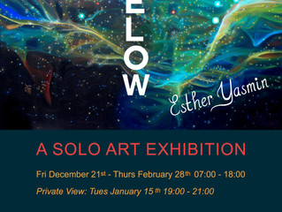 As Above So Below: A Solo Art Exhibition