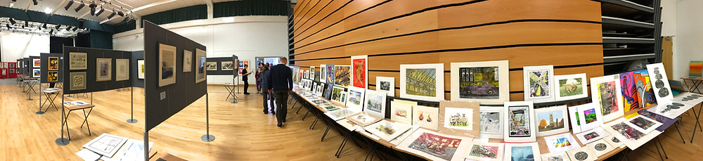 At Cambridge open Art Exhibition I