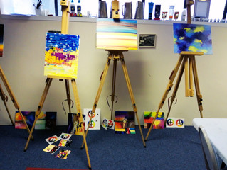 My first oil painting workshop - 'Introduction to Oil Painting'