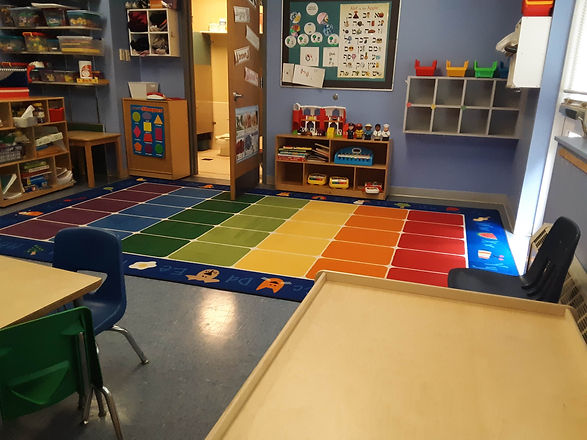 One of the classrooms for K'tanim