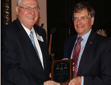 Phil Elwood honored by Topeka Bar Association