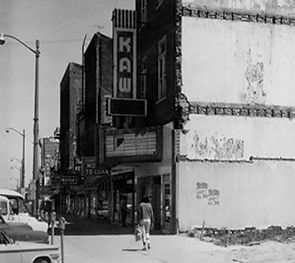downtown Topeka 1960s