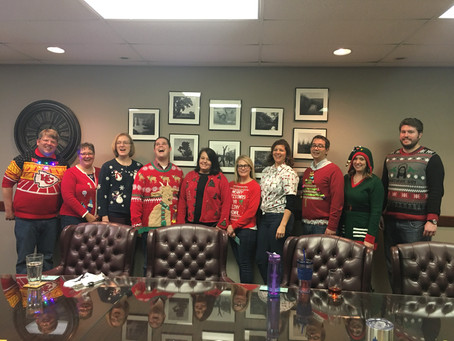 2018 Ugly Sweater Competition