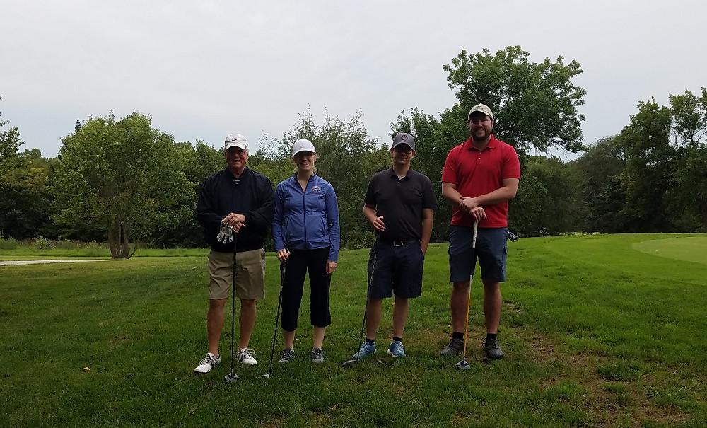 GSEP team at TBA YLD Golf Tourney 2018
