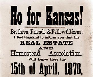 Ho for Kansas!