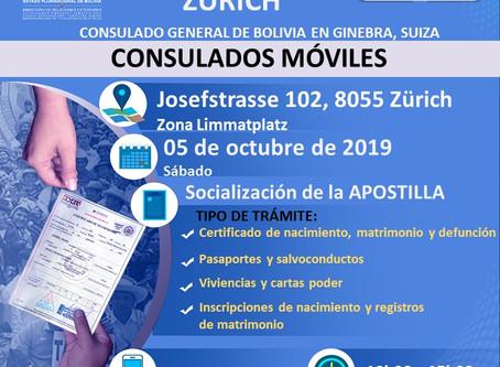 Consulado Móvil Zurich