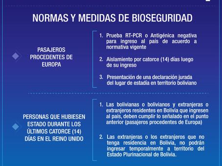 NORMAS Y MEDIDAS DE BIOSEGURIDAD