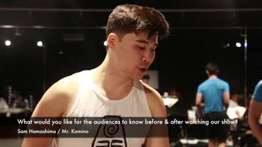 [Comfort Women: A New Musical] Interview Relay: Sam Hamashima