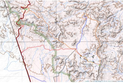 """טיול למערב הר רמון, פסח 2010, מאת ש""""צ"""