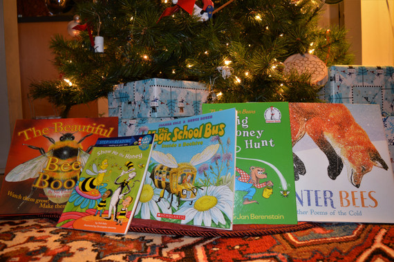 Books about bees! For kids!