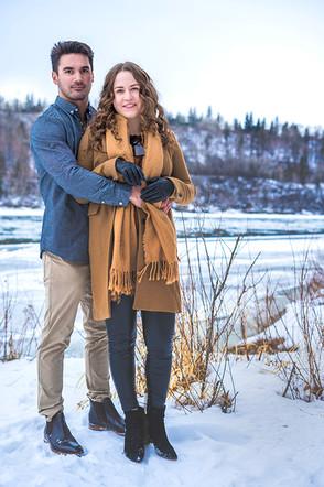 Couples Portrait River Valley Edmonton.j