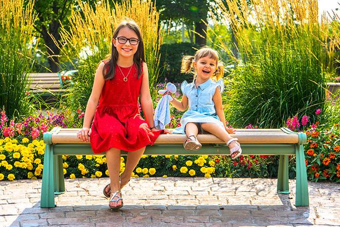 Children Park Outdoor Portrait Edmonton.
