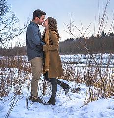 Couple Hawrelak Park Edmonton Portrait.j