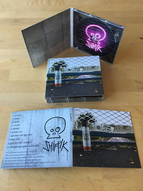 Shifting Zones - Physical CD Album