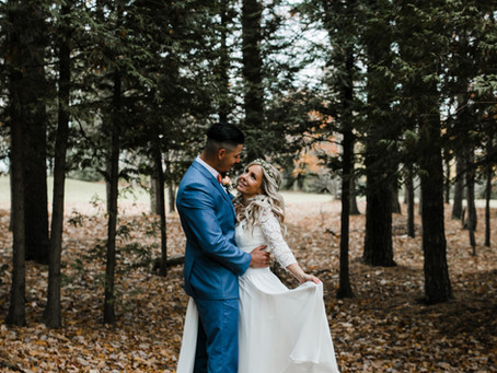 Amber & Jeremiah ~ Oct 24, 2020    Photo by Crystal Jessup