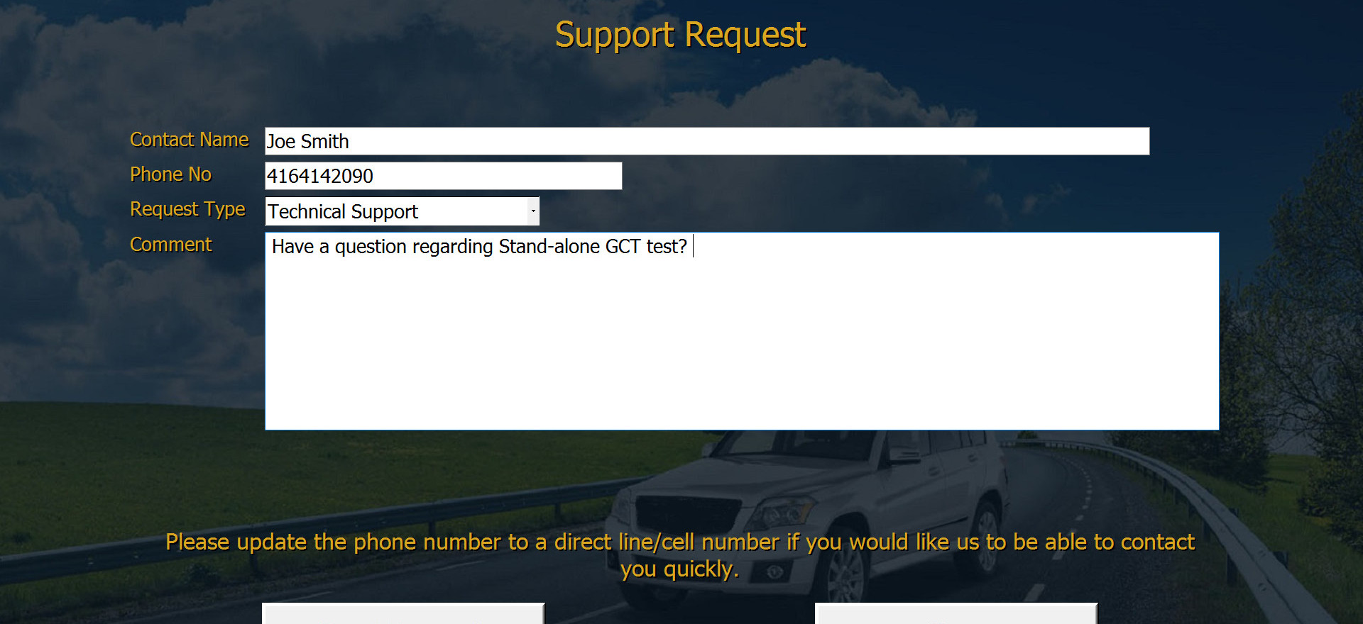 Got a question, issue, or good idea? Just text us from your machine!