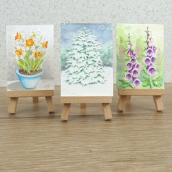Aceo, art cards editions and originals