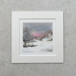 Miniature Winter watercolour