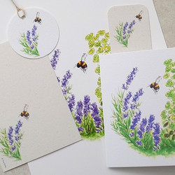 Lavender bee collection