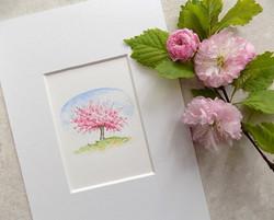 Miniature blossom tree