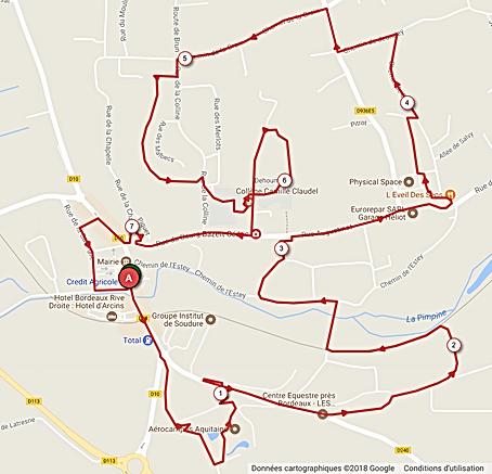 Parcours 7 Km