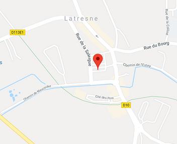 Plan Latresne Mairie