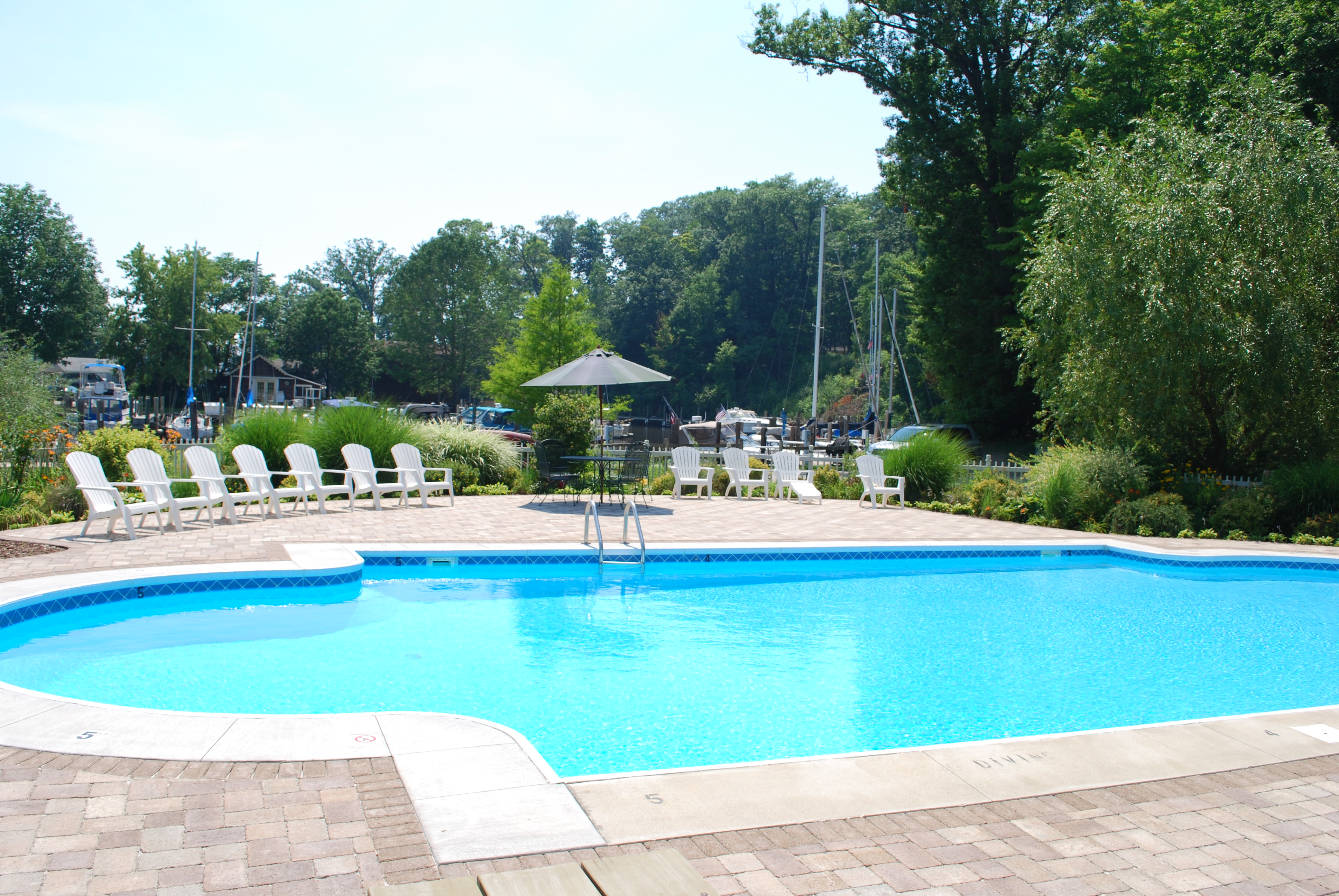 South Haven Marina pool