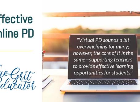 Effective Online PD