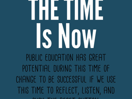 """Now is the Time for Education to Go from """"Good to Great"""""""