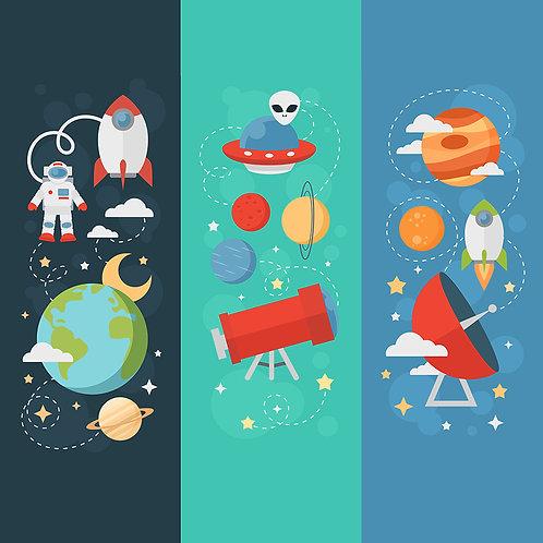Fotomural en el espacio 001