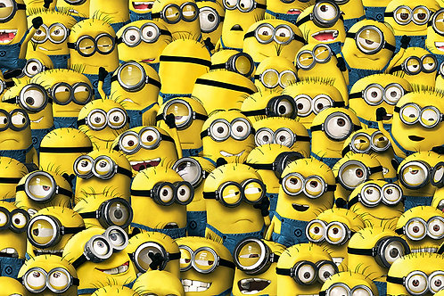 Fotomural Minions 001