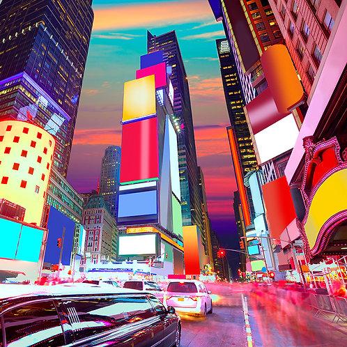 Fotomural Times Square Manhattan Nueva York
