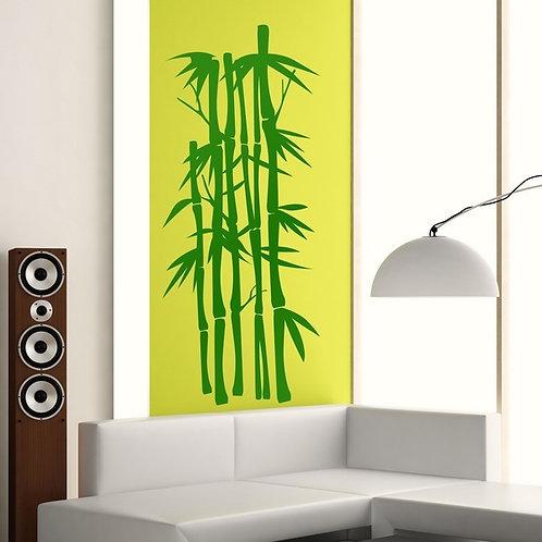Floral Cañas de bambú