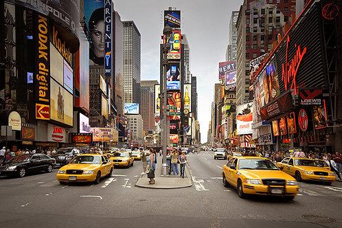 Fotomural Times Square, Manhattan, New York