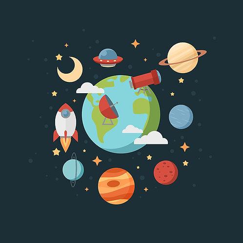 Fotomural Planetas